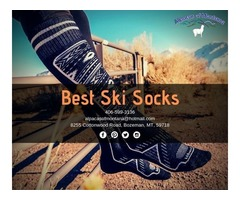 Buy The Best Ski Socks Online | Alpacas of Montana