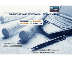 Technical Translation Specialists Lima-Peru