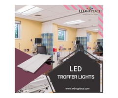 Hurry Up !! Install LED Troffer Lights at your Commercial Workplace