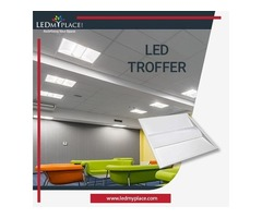 Upgrade to 30W LED Troffers for Lighting the Big Commercial Units