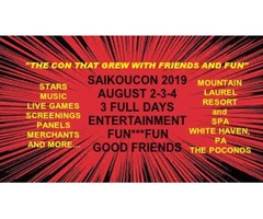 HURRY ITS ALMOST TIME FOR SAIKOUCON 2019
