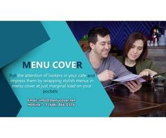 stylish menus in menu cover