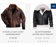 Leather Jacket and Coats