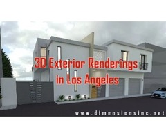DIMENSIONS 3D Exterior Renderings in Los Angeles Brings Your Vision to Life
