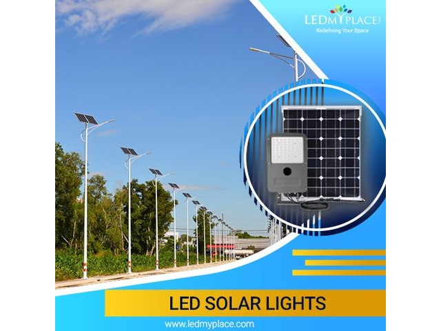 Install LED Solar Lights If Want to Create Bright And More Illuminated Outdoor Space | free-classifieds-usa.com