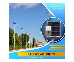 Install LED Solar Lights If Want to Create Bright And More Illuminated Outdoor Space