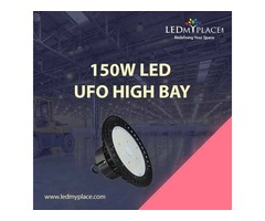 Install (150W LED UFO High Bay Lights) At Discounted Price