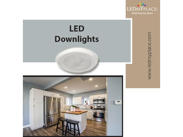 You Deserve to have Improved Lights Inside Homes, Install LED Downlights   free-classifieds-usa.com