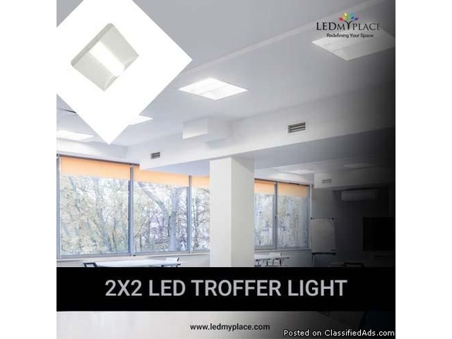 Buy (2X2 Troffer Lights) For Your Business Space With 40% Discount | free-classifieds-usa.com