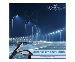 Install (LED Pole Light) Fixtures To Enhance The Outdoor Safety