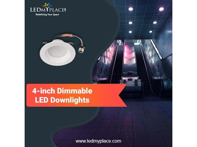 Use 4'' Dimmable LED Downlights at your Shops to Appeal Customers | free-classifieds-usa.com