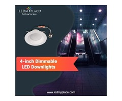 Use 4'' Dimmable LED Downlights at your Shops to Appeal Customers