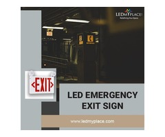 Make the Indoor Areas Safer by Installing LED Emergency Exit Sign