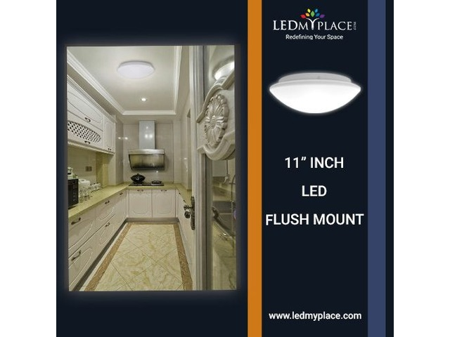 Buy Classy 11 Inch Led Flush Mount Light At Incredible Price | free-classifieds-usa.com