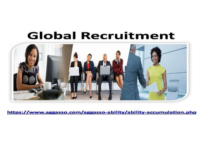 Global Recruitments Services Organized By Reputed Aggasso Firm | free-classifieds-usa.com