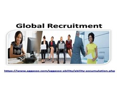 Global Recruitments Services Organized By Reputed Aggasso Firm