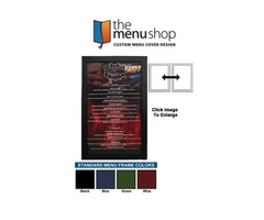 One Panel Two Views Standard Menu Frame | The Menu Shop | free-classifieds-usa.com