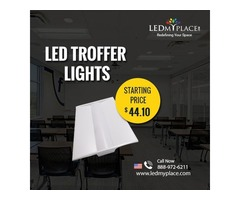 Have the Perfect Lighting at the Workplace by (LED Troffer Lights)