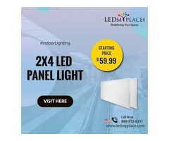 Enhance Your Office Lighting By Using (LED Panel Lights 2X4)