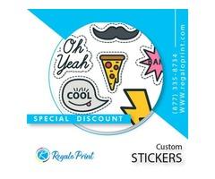 Get Best Designed Custom Stickers Printing | RegaloPrint | free-classifieds-usa.com