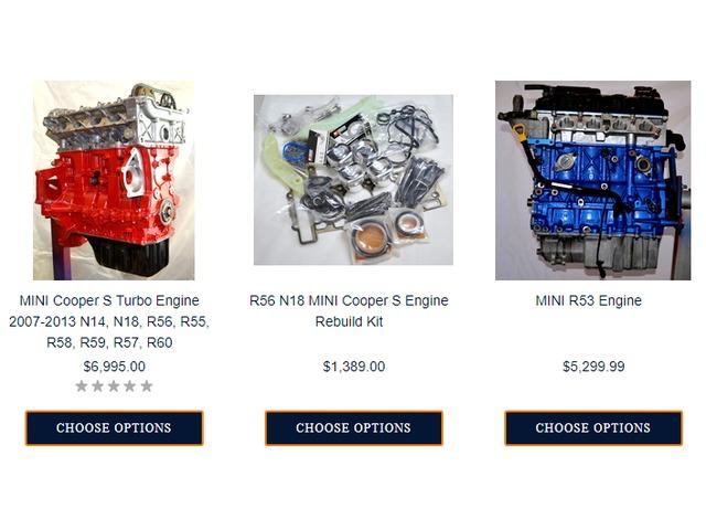 Mini N14 Engine Rebuild