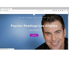 The New York Medium - Certified Psychic Medium & Tarot Advisor |Jack Rourke's Psychic Readings L