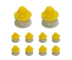 10pcs Door Moulding Trim Wheel Arch Clips For Land River Discovery 3 Range Sport