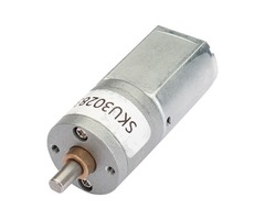 20mm DC 6V 22RPM Large Torque Gear Motor