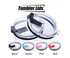 Splash Spill Proof Lid 30 oz for YETI RTIC Rambler Tumbler Cup Lids 4 Colors 200pcs OOA783