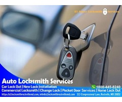 Auto Locksmith Services in Rockville, Automotive Locksmith service Rockville MD
