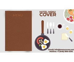 Cheap leather menu covers