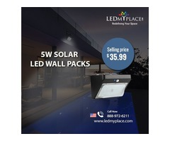 Get Dual Benefits By Installing 5w Solar LED Wall Packs