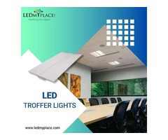Grow your Business by installing LED Troffer Lights that will give More Savings