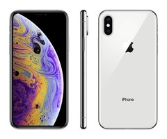 Apple iPhone XS, Unlocked, 64 GB - Silver (Renewed) by Amazon Renewed