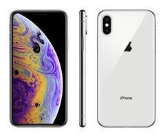 Apple iPhone XS, Unlocked, 64 GB - Silver (Renewed) by Amazon Renewed