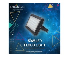 Install (50W LED Flood Lights) in your Garden to enjoy Blissful evenings