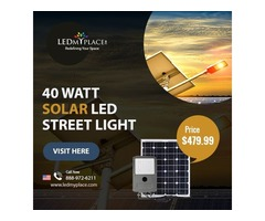 Make 100% Electrical Savings By Installing LED Solar Street Light 6000K