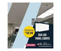 Make The Interiors Look More Graceful By Using (2x4 LED Panel 5000k)