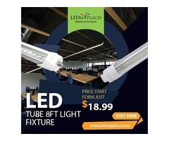 Best 8ft LED Tube Light Fixtures in Sale - Grab Now