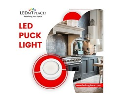 Install Elegant Designed LED Puck Lights That Can Be Installed At Every Indoor Place