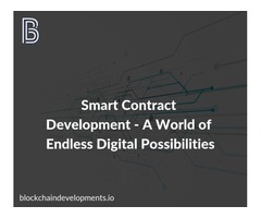 Automate your business with Smart Contract Development – Blockchain Developments