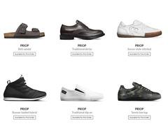 Custom Footwear Handcrafted in Italy