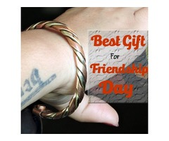 Gifts for Your Best Friend | Friendship Day Gift I Copper Fashion Bracelets for sale