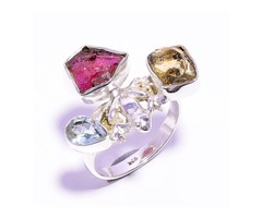 Wholesale Silver Gemstone Rings – Lavie Jewelz