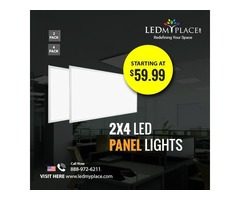 Install (2x4 LED Panel Lights) Inside Your Offices To Attract Clients