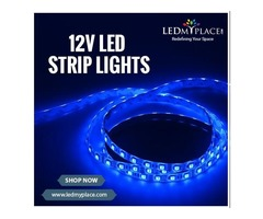 Install Ultra Wide Beam Angled LED Strip Lights To Create a Powerful Ambiance