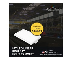 Use (4FT LED Linear High Bay Lights) For Smooth And Proper Lighting