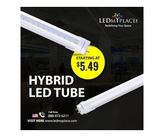 Try Out New Hybrid T8 LED Tube Lights for Better Lighting