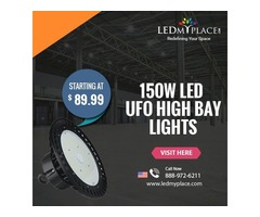 Let Your Factories Be More Productive By Using (150W LED UFO High Bay Lights)