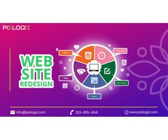 Best Website Redesign Services in India - Pixlogix